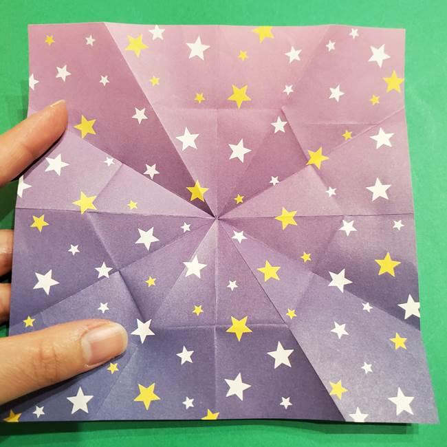 折り紙おもちゃ アイスクリーム カップの作り方折り方②カップ(24)