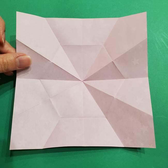 折り紙おもちゃ アイスクリーム カップの作り方折り方②カップ(25)
