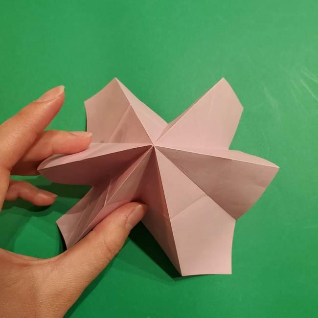 折り紙おもちゃ アイスクリーム カップの作り方折り方②カップ(26)