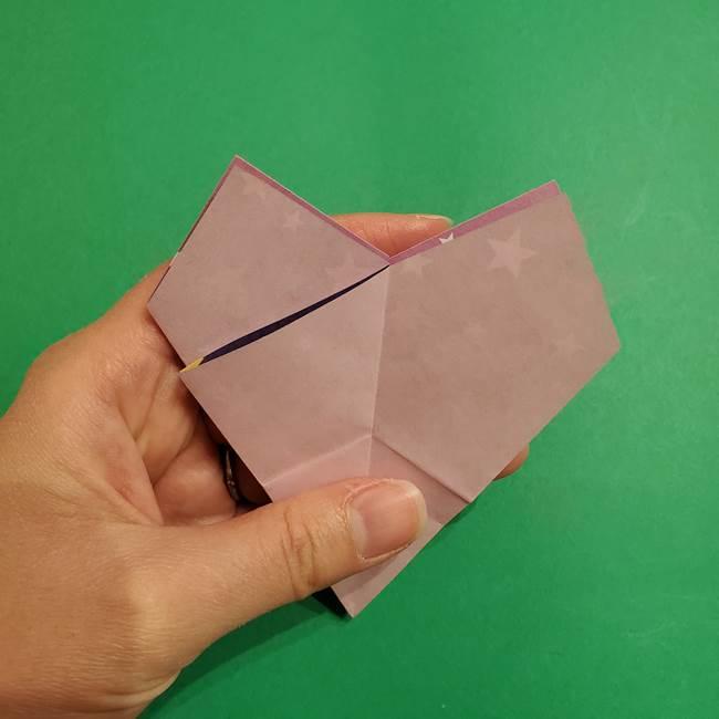 折り紙おもちゃ アイスクリーム カップの作り方折り方②カップ(27)
