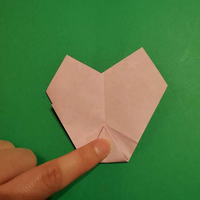 折り紙おもちゃ アイスクリーム カップの作り方折り方②カップ(29)