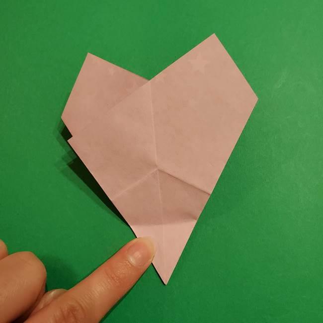 折り紙おもちゃ アイスクリーム カップの作り方折り方②カップ(30)