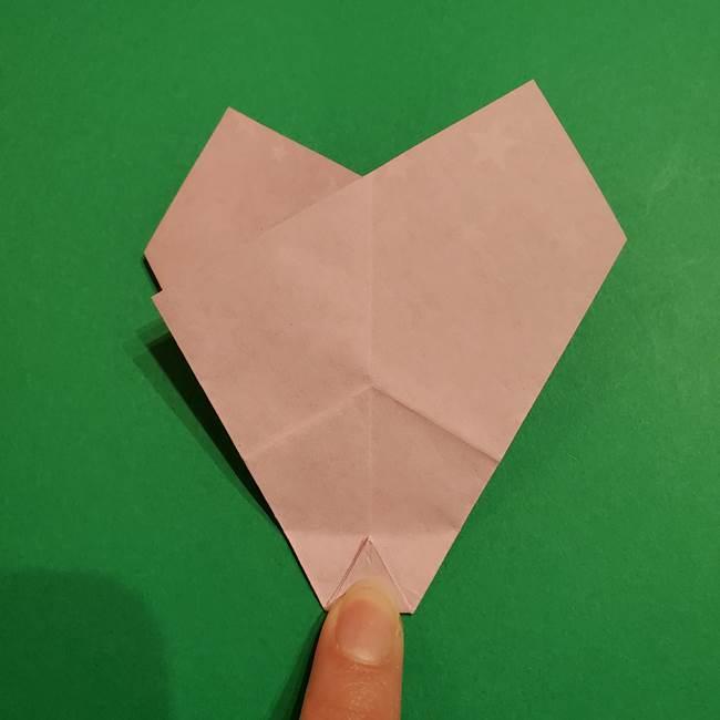 折り紙おもちゃ アイスクリーム カップの作り方折り方②カップ(31)