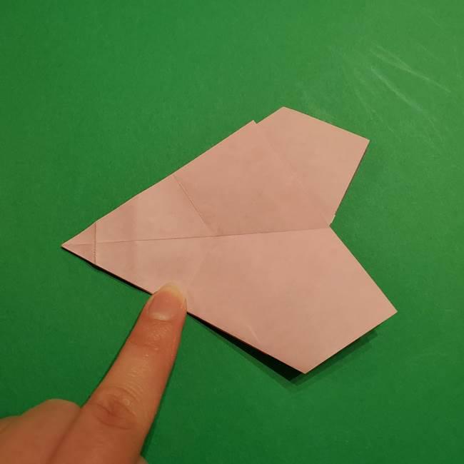 折り紙おもちゃ アイスクリーム カップの作り方折り方②カップ(32)