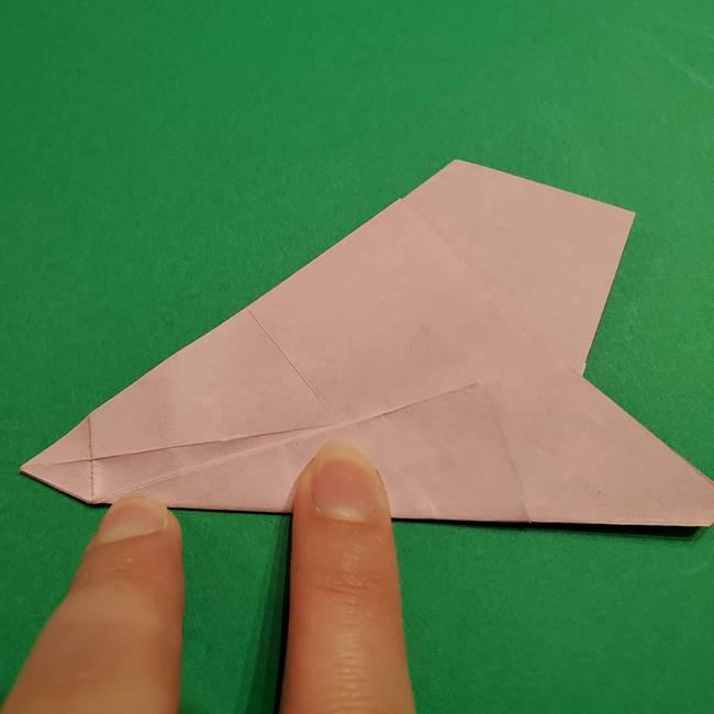 折り紙おもちゃ アイスクリーム カップの作り方折り方②カップ(33)