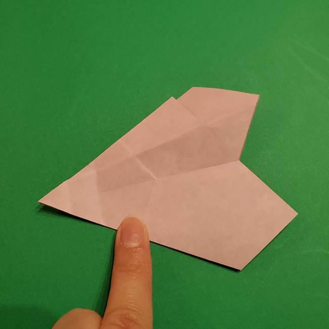 折り紙おもちゃ アイスクリーム カップの作り方折り方②カップ(35)