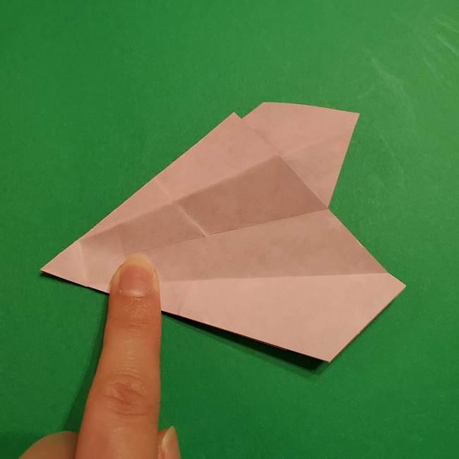 折り紙おもちゃ アイスクリーム カップの作り方折り方②カップ(37)