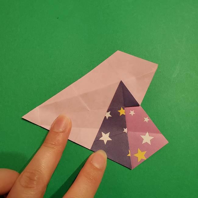 折り紙おもちゃ アイスクリーム カップの作り方折り方②カップ(38)