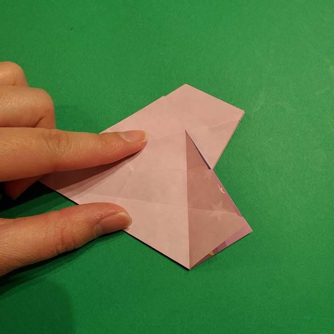 折り紙おもちゃ アイスクリーム カップの作り方折り方②カップ(39)