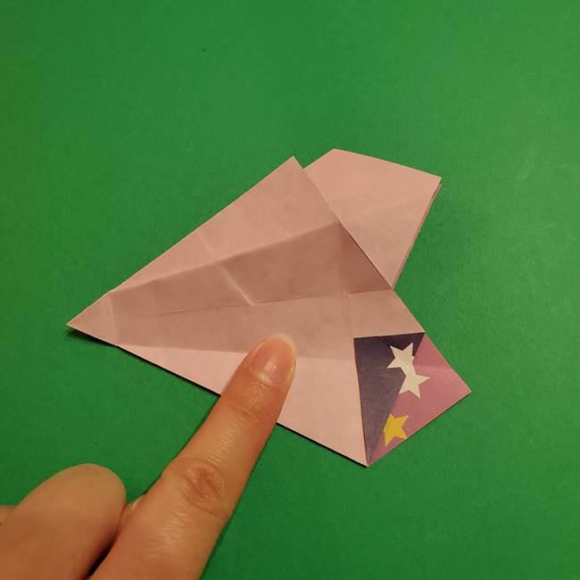 折り紙おもちゃ アイスクリーム カップの作り方折り方②カップ(40)