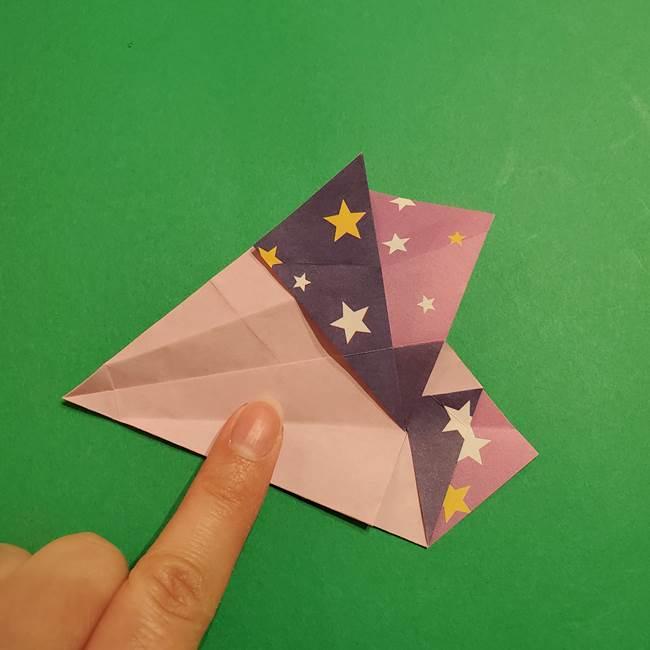 折り紙おもちゃ アイスクリーム カップの作り方折り方②カップ(42)