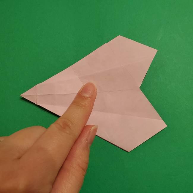 折り紙おもちゃ アイスクリーム カップの作り方折り方②カップ(43)