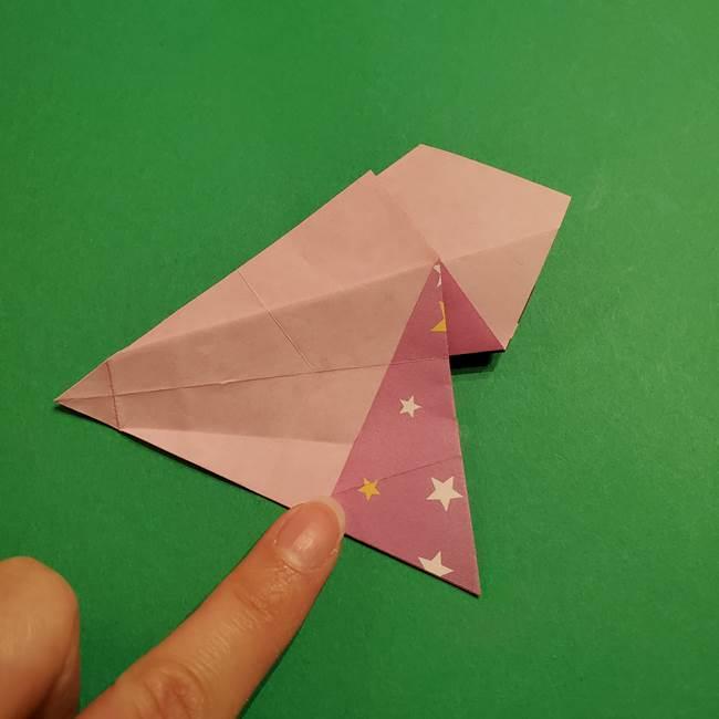 折り紙おもちゃ アイスクリーム カップの作り方折り方②カップ(44)