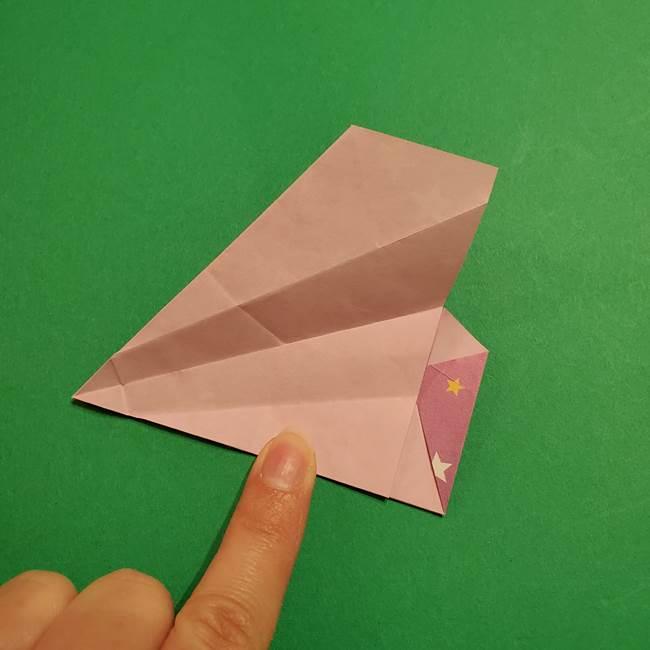 折り紙おもちゃ アイスクリーム カップの作り方折り方②カップ(47)