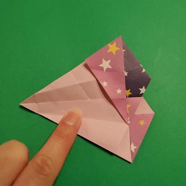 折り紙おもちゃ アイスクリーム カップの作り方折り方②カップ(48)