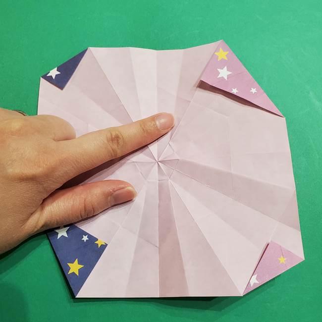 折り紙おもちゃ アイスクリーム カップの作り方折り方②カップ(49)