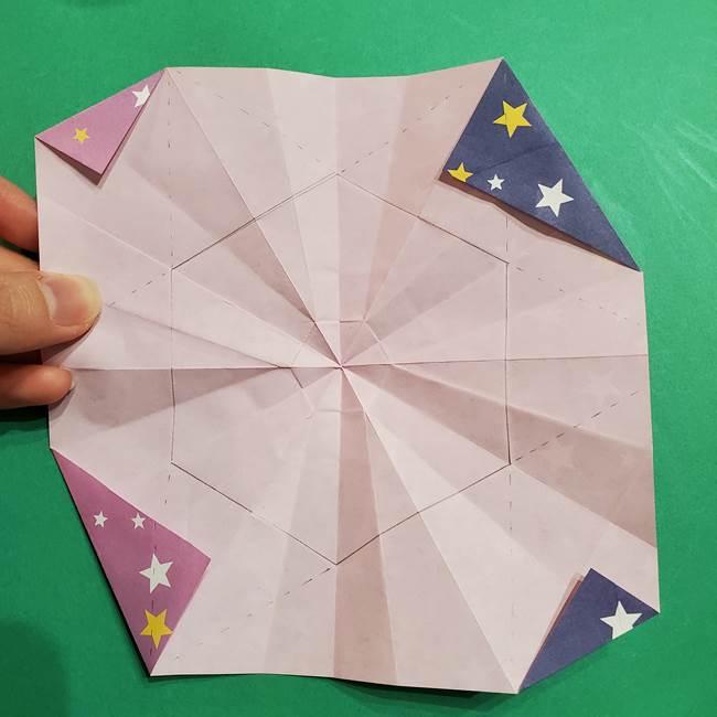 折り紙おもちゃ アイスクリーム カップの作り方折り方②カップ(50)