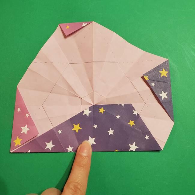 折り紙おもちゃ アイスクリーム カップの作り方折り方②カップ(51)