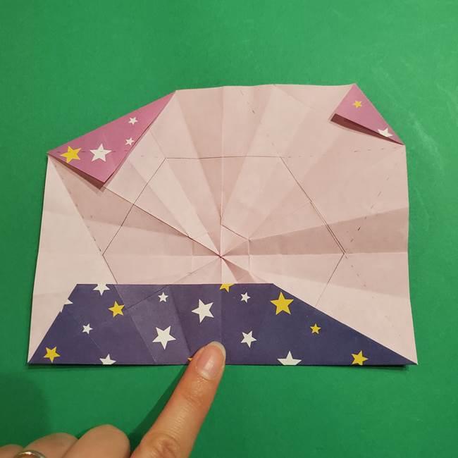 折り紙おもちゃ アイスクリーム カップの作り方折り方②カップ(52)