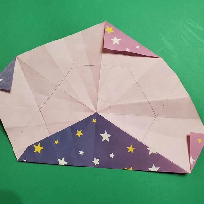 折り紙おもちゃ アイスクリーム カップの作り方折り方②カップ(53)