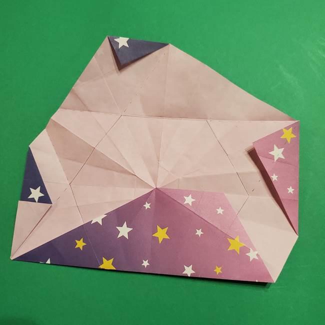 折り紙おもちゃ アイスクリーム カップの作り方折り方②カップ(54)
