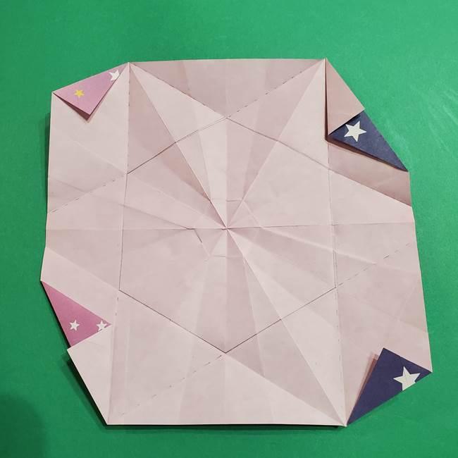 折り紙おもちゃ アイスクリーム カップの作り方折り方②カップ(57)