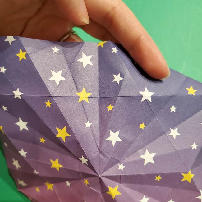 折り紙おもちゃ アイスクリーム カップの作り方折り方②カップ(59)