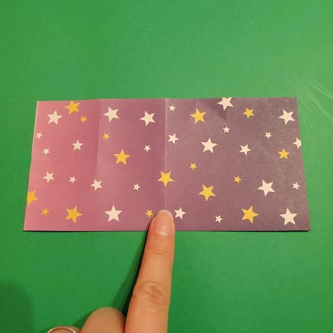折り紙おもちゃ アイスクリーム カップの作り方折り方②カップ(6)