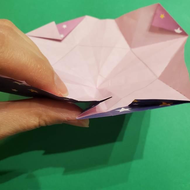 折り紙おもちゃ アイスクリーム カップの作り方折り方②カップ(61)