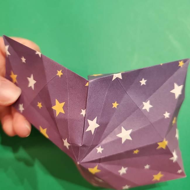 折り紙おもちゃ アイスクリーム カップの作り方折り方②カップ(62)
