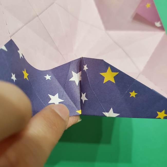 折り紙おもちゃ アイスクリーム カップの作り方折り方②カップ(63)