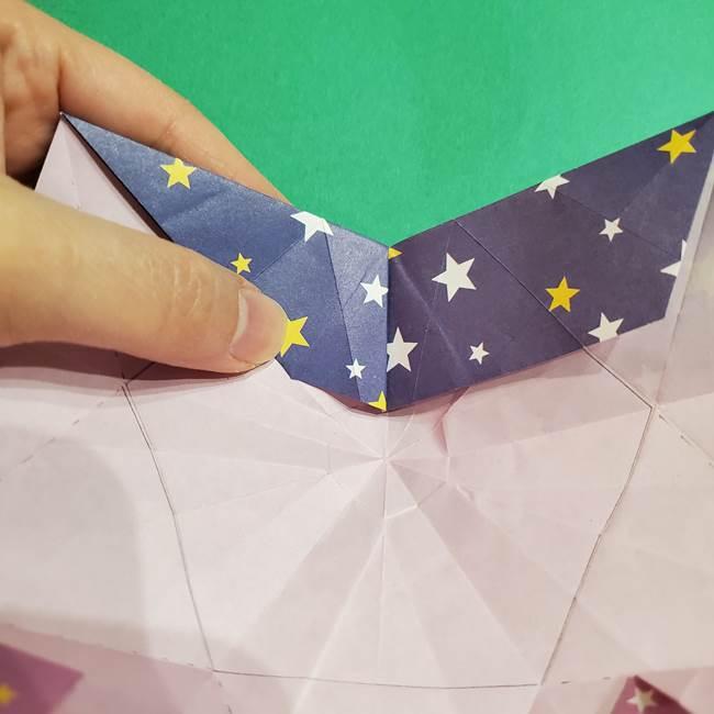 折り紙おもちゃ アイスクリーム カップの作り方折り方②カップ(64)