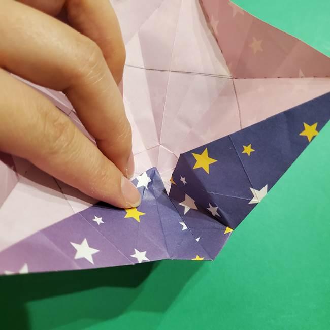 折り紙おもちゃ アイスクリーム カップの作り方折り方②カップ(66)