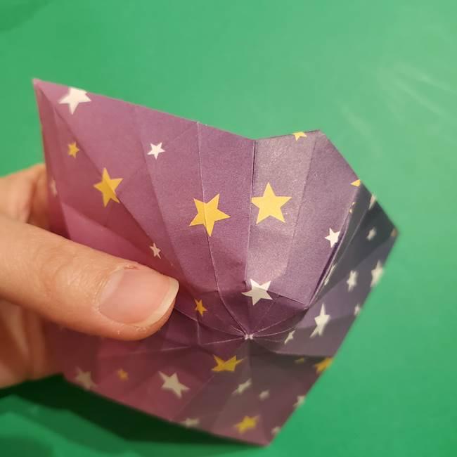 折り紙おもちゃ アイスクリーム カップの作り方折り方②カップ(67)