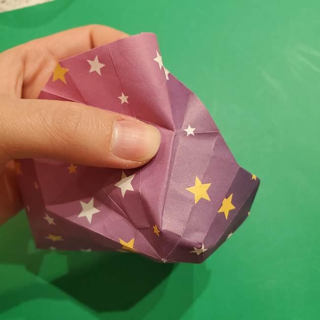 折り紙おもちゃ アイスクリーム カップの作り方折り方②カップ(68)