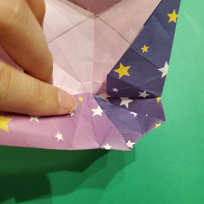 折り紙おもちゃ アイスクリーム カップの作り方折り方②カップ(69)