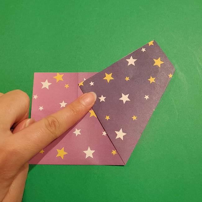 折り紙おもちゃ アイスクリーム カップの作り方折り方②カップ(7)