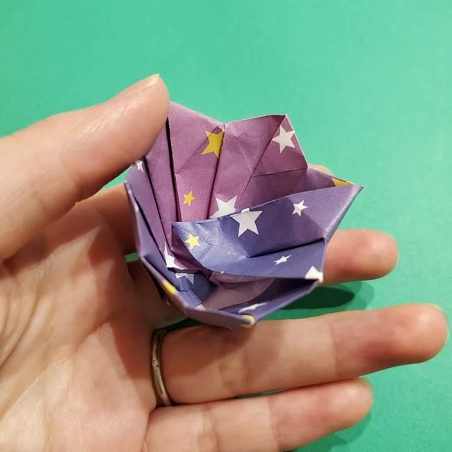 折り紙おもちゃ アイスクリーム カップの作り方折り方②カップ(70)
