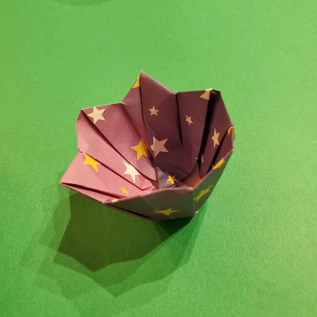 折り紙おもちゃ アイスクリーム カップの作り方折り方②カップ(71)
