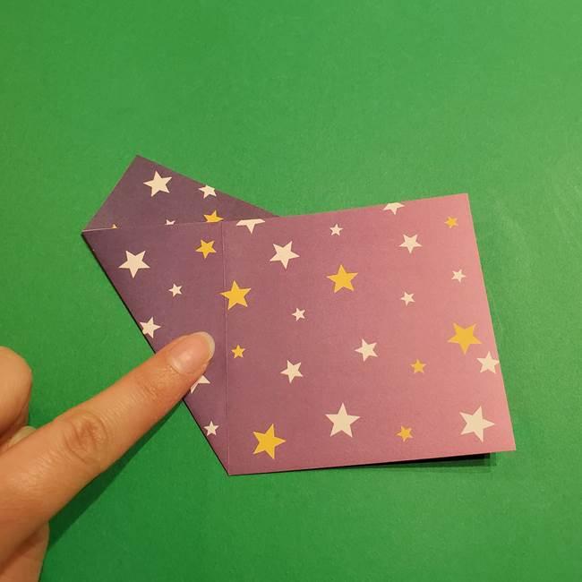 折り紙おもちゃ アイスクリーム カップの作り方折り方②カップ(8)