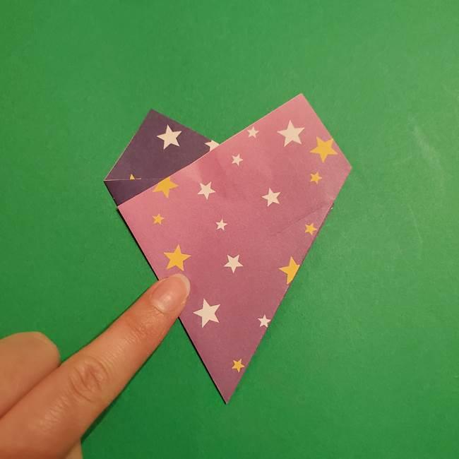 折り紙おもちゃ アイスクリーム カップの作り方折り方②カップ(9)