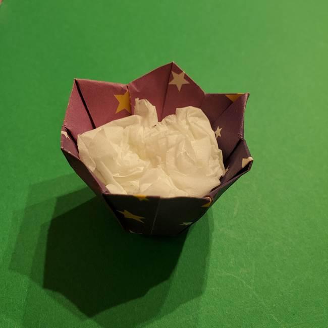折り紙おもちゃ アイスクリーム カップの作り方折り方③完成(3)