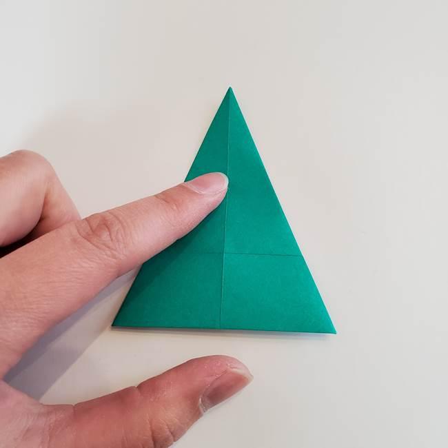 折り紙で朝顔の葉の折り方作り方(12)