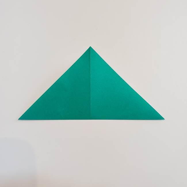 折り紙で朝顔の葉の折り方作り方(4)