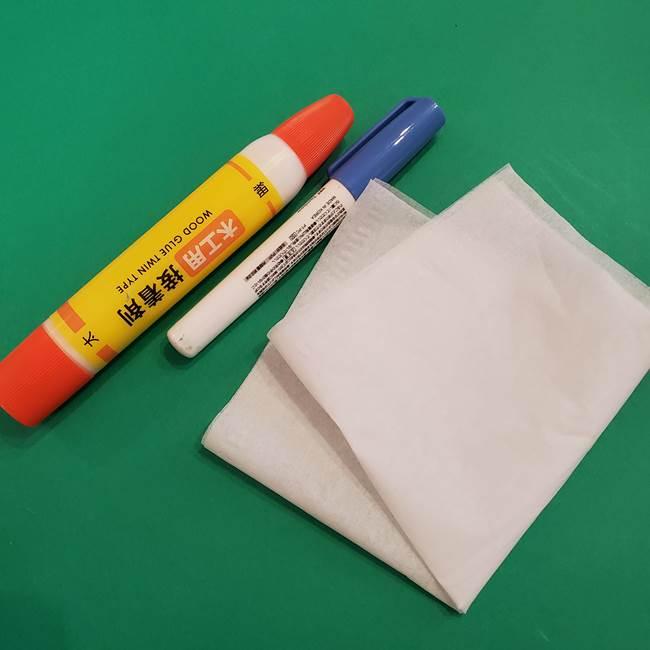折り紙のおもちゃ アイスクリームカップ*用意するもの(2)