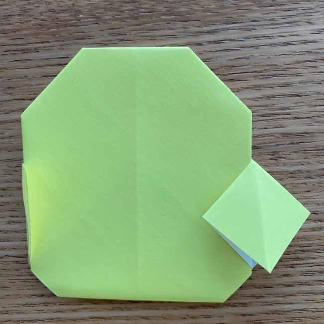 折り紙のキイロイトリの折り方作り方 (16)
