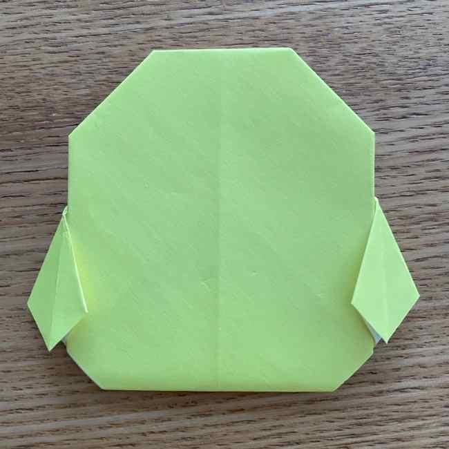 折り紙のキイロイトリの折り方作り方 (23)