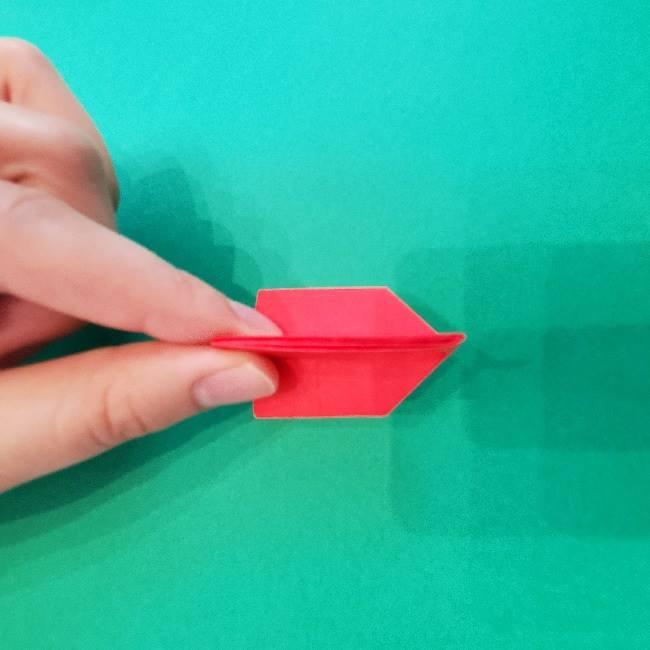 折り紙のキティーちゃんの折り方作り方 (15)