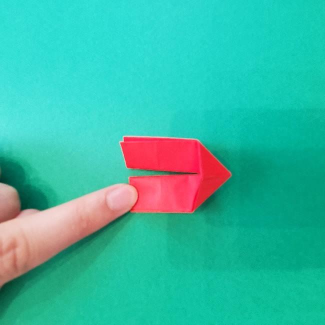 折り紙のキティーちゃんの折り方作り方 (16)