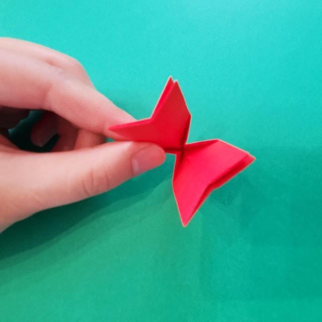 折り紙のキティーちゃんの折り方作り方 (19)